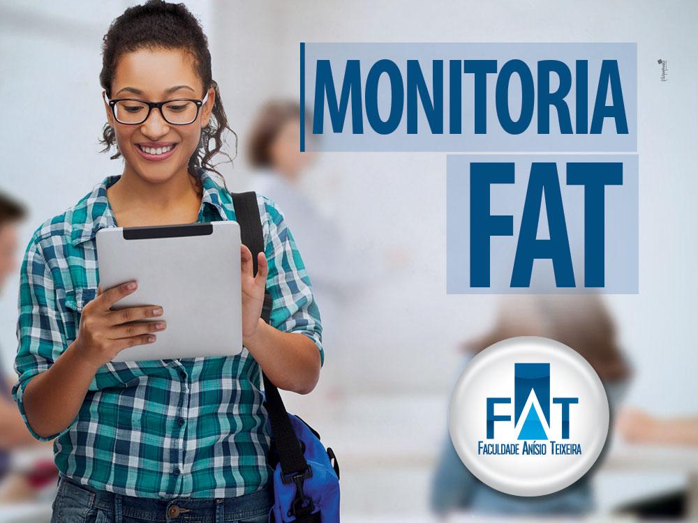 O monitor recebe certificado (carga horária complementar) e desconto (20%mens).