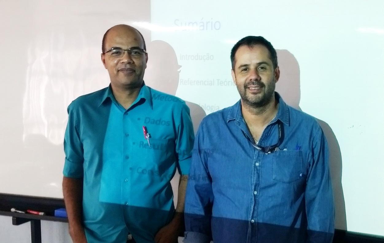 Professores Doutores Lindomar Pinto e Miguel Rivera premiados no XIX SemeAd.