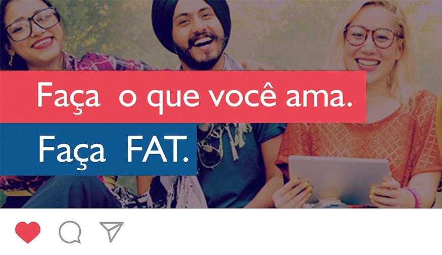 Inscrições podem ser feitas através do site vestibular.fat.edu.br